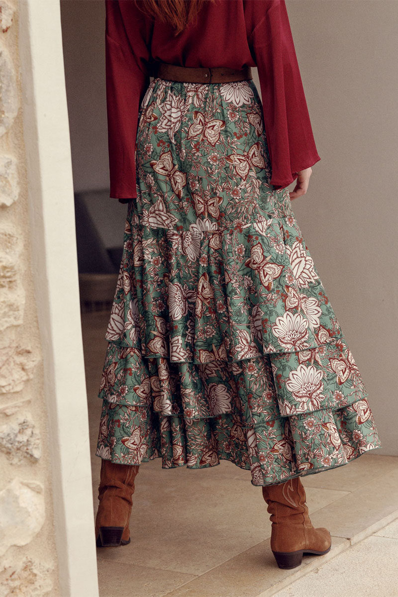 am0632.27.000_Project Soma Herbal Escape Skirt